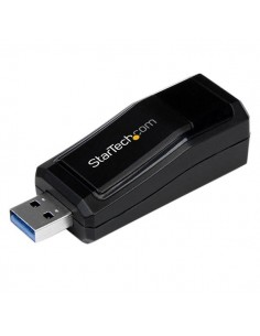 StarTech.com USB 3.0 to Gigabit Ethernet NIC Network Adapter – 10/100/1000 Mbps Startech USB31000NDS - 1