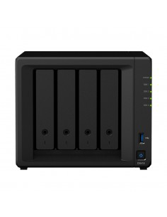 Synology DiskStation DS418 NAS- ja tallennuspalvelimet Mini Tower Ethernet LAN Musta RTD1296 Synology DS418 - 1
