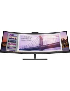 "HP S430c 110.2 cm (43.4"") 3840 x 1200 pikseliä WUXGA LED Musta, Hopea Hp 5FW74AA#ABB - 1"