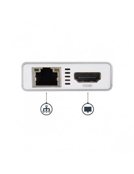 StarTech.com DKT30CHPDW kannettavien tietokoneiden telakka ja porttitoistin Langallinen USB 3.2 Gen 1 (3.1 1) Type-C Hopea Start