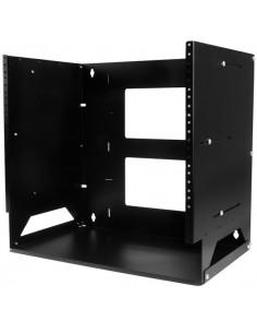 StarTech.com Wall-Mount Server Rack with Built-in Shelf - Solid Steel 8U Startech WALLSHELF8U - 1