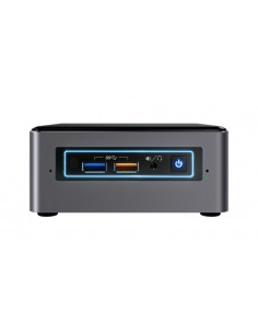Intel NUC BOXNUC7I5BNHXF PC/workstation i5-7260U Nettop 7th gen Intel® Core™ i5 4 GB DDR4-SDRAM 1000 HDD Windows 10 Mini PC Inte