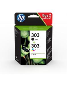 HP 303 2 pc(s) Original Standard Yield Black, Cyan, Magenta, Yellow Hq 3YM92AE#301 - 1