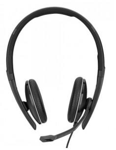 Sennheiser SC 165 USB-C Kuulokkeet Pääpanta Musta Sennheiser 508356 - 1