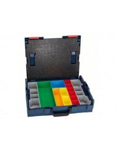 Bosch L-BOXX 102 Verktygslåda Akrylnitrilbutadienstyren (ABS) Blå, Röd Bosch 1600A001S2 - 1