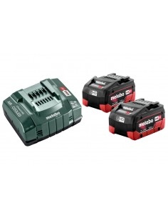 Metabo Basis-set 2x 18v 5,5 Ah Lihd Metabo 685122000 - 1