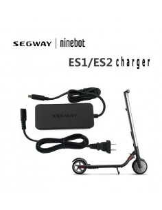 Ninebot by Segway Kickscooter Charger power adapter/inverter Indoor 71 W Black Ninebot-segway 90710025 - 1
