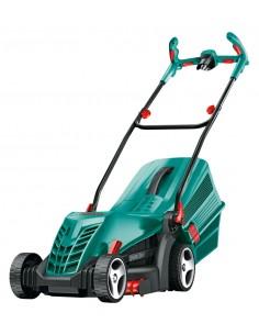 Bosch ARM 37 Työnnettävä ruohonleikkuri AC Musta, Syaani, Punainen Bosch 06008A6201 - 1