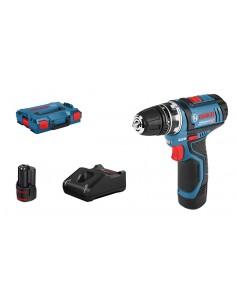 Bosch GSR 12V-15 FC Flex Professional 1300 RPM Avaimeton 600 g Musta, Sininen Bosch 06019F6001 - 1