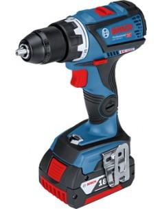 Bosch GSR 18V-60 C Avaimeton Musta, Sininen, Punainen Bosch 06019G1103 - 1