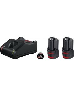 Bosch 1 600 A01 9RD batteri och laddare för motordrivet verktyg Set med Bosch 1600A019RD - 1