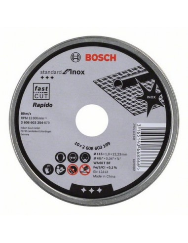 Bosch 2 608 603 254 kulmahiomakonetarvike levyleikkuri Bosch 2608603254 - 1