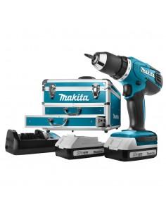 Makita DF457DWEX6 borr 1.7 kg Svart, Blå Makita DF457DWEX6 - 1