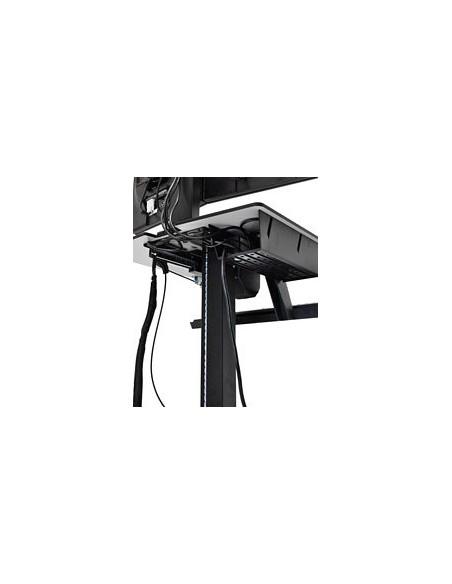 Ergotron WorkFit-C, Single LD Sit-Stand Workstation Svart, Grå Multimediavagn Ergotron 24-215-085 - 4
