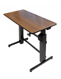 Ergotron WorkFit-D, Sit-Stand desk computer Cherry Ergotron 24-271-927 - 1