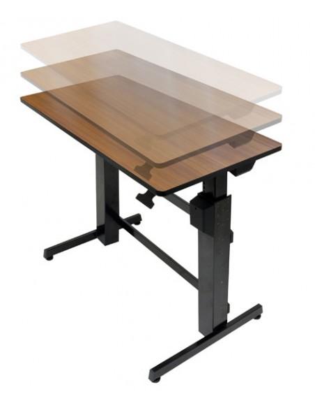 Ergotron WorkFit-D, Sit-Stand Desk tietokonepöytä Kirsikka Ergotron 24-271-927 - 3
