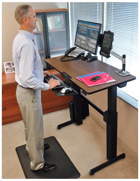 Ergotron WorkFit-D, Sit-Stand Desk datorbord Körsbär Ergotron 24-271-927 - 7
