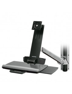 "Ergotron StyleView Sit-Stand Combo System 61 cm (24"") Aluminium Ergotron 45-271-026 - 1"