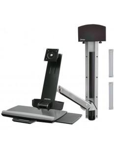 "Ergotron StyleView Sit-Stand Combo System 61 cm (24"") Aluminium Ergotron 45-273-026 - 1"