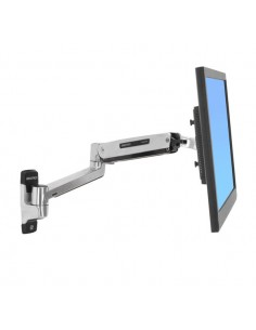 "Ergotron LX Sit-Stand Wall Mount LCD Arm 106.7 cm (42"") Ruostumaton teräs Ergotron 45-353-026 - 1"