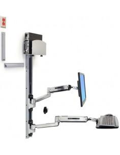 """Ergotron 45-358-026 monitorin kiinnike ja jalusta 106.7 cm (42"""") Hopea Ergotron 45-358-026 - 1"""