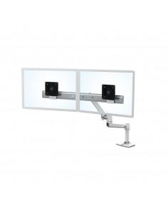 "Ergotron LX Series Desk Dual Direct Arm 63.5 cm (25"") Vapaasti seisova Valkoinen Ergotron 45-489-216 - 1"