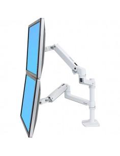 """Ergotron LX Series 45-492-216 monitorin kiinnike ja jalusta 61 cm (24"""") Valkoinen Ergotron 45-492-216 - 1"""