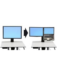"Ergotron WorkFit Convert-to-LCD & Laptop Kit from Single HD 50.8 cm (20"") Ergotron 97-605 - 1"