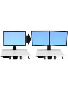 "Ergotron WorkFit Convert-to-Dual Kit from Single HD 55.9 cm (22"") Ergotron 97-606 - 1"