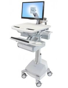 Ergotron SV44-1211-C multimedia cart/stand Aluminium, Grey, White Flat panel Ergotron SV44-1211-C - 1