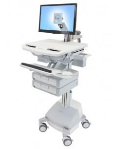 Ergotron StyleView Alumiini, Harmaa, Valkoinen Litteä paneeli Multimediakärry Ergotron SV44-1261-2 - 1
