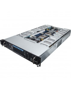 Gigabyte G250-G52 Intel® C612 LGA 2011-v3 Teline ( 2U ) Gigabyte 6NG250G52MR-00 - 1