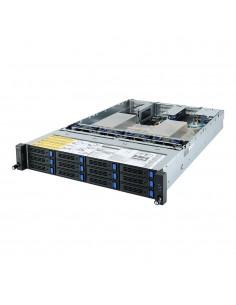 Gigabyte R282-Z90 Socket SP3 Rack (2U) Black Gigabyte 6NR282Z90MR-00 - 1