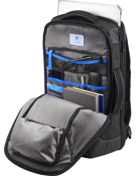 HP Recycled backpack Black Polyvinyl Butyral (PVB), Polyethylene terephthalate (PET) Hp 5KN28AA - 4