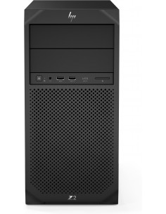 HP Z2 G4 i7-9700 Tower 9th gen Intel® Core™ i7 16 GB DDR4-SDRAM 512 SSD Windows 10 Pro Workstation Black Hp 6TW13EA#UUW - 1