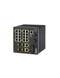 Cisco IE-2000-16TC-L nätverksswitchar hanterad L2 Fast Ethernet (10/100) Svart Cisco IE-2000-16TC-L - 1