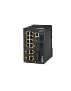 Cisco IE-2000-8TC-G-B nätverksswitchar hanterad L2 Fast Ethernet (10/100) Svart Cisco IE-2000-8TC-G-B - 1