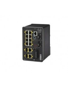 Cisco IE-2000-8TC-L nätverksswitchar hanterad L2 Fast Ethernet (10/100) Svart Cisco IE-2000-8TC-L - 1
