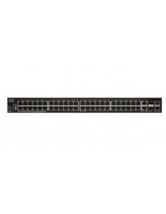 Cisco SG350X-48MP Hallittu L3 Gigabit Ethernet (10/100/1000) Power over -tuki 1U Musta Cisco SG350X-48MP-K9-EU - 1