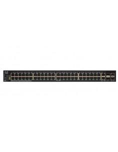 Cisco SG550X-48 Hallittu L3 Gigabit Ethernet (10/100/1000) 1U Musta, Harmaa Cisco SG550X-48-K9-EU - 1