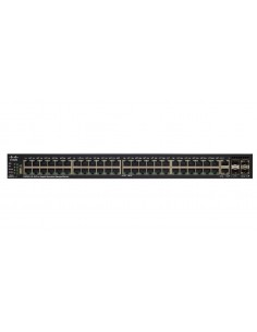 Cisco SG550X-48 hanterad L3 Gigabit Ethernet (10/100/1000) 1U Svart, Grå Cisco SG550X-48-K9-EU - 1