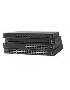 Cisco SX550X-52-K9-EU network switch Managed L3 Gigabit Ethernet (10/100/1000) Black Cisco SX550X-52-K9-EU - 1