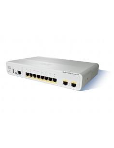 Cisco Catalyst WS-C2960CPD-8PT-L nätverksswitchar hanterad L2 Fast Ethernet (10/100) Strömförsörjning via (PoE) stöd Vit Cisco W