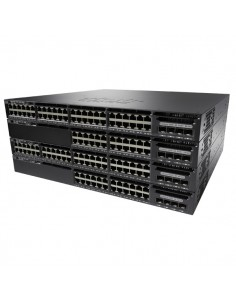 Cisco Catalyst WS-C3650-24PWD-S verkkokytkin Hallittu L3 Gigabit Ethernet (10/100/1000) Power over -tuki 1U Musta Cisco WS-C3650