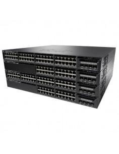 Cisco Catalyst WS-C3650-24TS-S nätverksswitchar hanterad L3 Gigabit Ethernet (10/100/1000) 1U Svart Cisco WS-C3650-24TS-S - 1