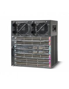 Cisco WS-C4507R+E= network equipment chassis 11U Black Cisco WS-C4507R+E= - 1