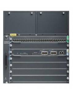 Cisco Catalyst WS-C4507RE+96V+ network switch Managed Gigabit Ethernet (10/100/1000) Power over (PoE) 11U Black Cisco WS-C4507RE