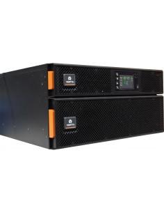 Vertiv Liebert GXT5-6000IRT5UXLE UPS-virtalähde Taajuuden kaksoismuunnos (verkossa) 6000 VA W 8 AC-pistorasia(a) Vertiv GXT5-600