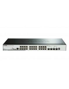 D-Link DGS-1510-28P nätverksswitchar hanterad L3 Gigabit Ethernet (10/100/1000) Strömförsörjning via (PoE) stöd Svart D-link DGS