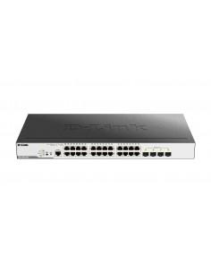 D-Link DGS-3000-28LP network switch Managed L2 Gigabit Ethernet (10/100/1000) Power over (PoE) 1U Black D-link DGS-3000-28LP - 1